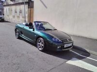 MG 1800 TF British racing green