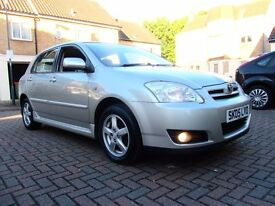TOYOTA COROLLA 1.4 D-4D T3 5 DOOR HATCHBACK 1 OWNER FSH HPI CLEAR EXCELLENT CONDITION