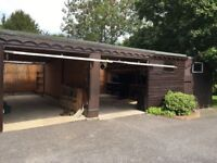 Garage to rent in Ashington, West Sussex - perfect for Classic car storage