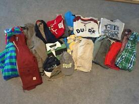 Boys Large Bundle Clothes Age 4-5