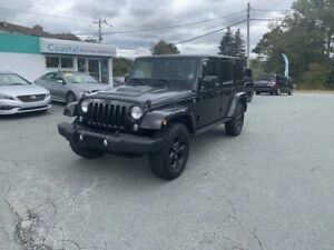 2015 Jeep Wrangler Unlimited Sahara Leather, NAV, Heated seat...