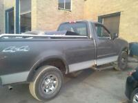 02 ford f150 4*4 with an f250 chassis