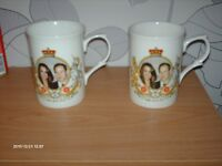 PRINCE WILLIAM AND KATE MIDDLETON MUGS