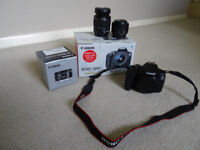 Canon 1300D With Kit F3.5 - 5.6 III Boxed + Canon 50mm F1.8 STM Boxed Mint Condition Like Brand New