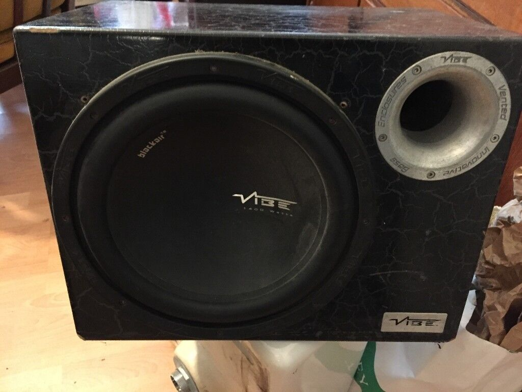Vibe Subwoofer Sub 12 inch CBR12