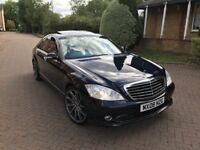 Mercedes s320cdi 2008 amg bodykit designo model 140k fsh top top spec looks and drives as new