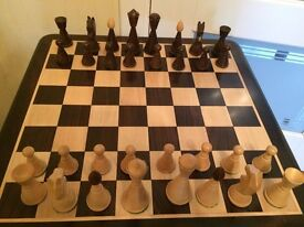 Repro Antique Chess Set