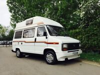TALBOT EXPRESS (CAMELOT) MOTORHOME, COMPLETE WITH EVERYTHING - READY FOR HOLIDAYS COMES WITH TRAILER