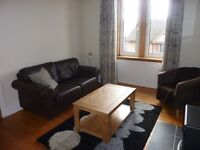 BRIGHT, ATTRACTIVE, FULLY-FURNISHED 1 BED FLAT, QUIET LOCATION IN DALRY