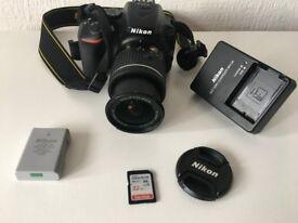Nikon-D5600-Digital-SLR-Camera-AF-P-DX-Nikkor-18-55mm f/3.5-5.6G VR