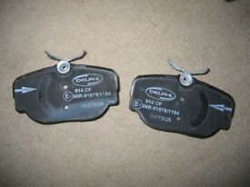 Land Rover Discovery II / Range Rover Brake Pads Delphi LP914, 2 rear