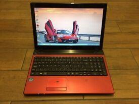 Acer Aspire 5750 intel core i5 2.4ghz - Windows 7 laptop
