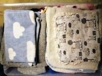 Baby blankets, baby bath towels, muslins...
