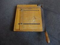 Vintage Guillotine