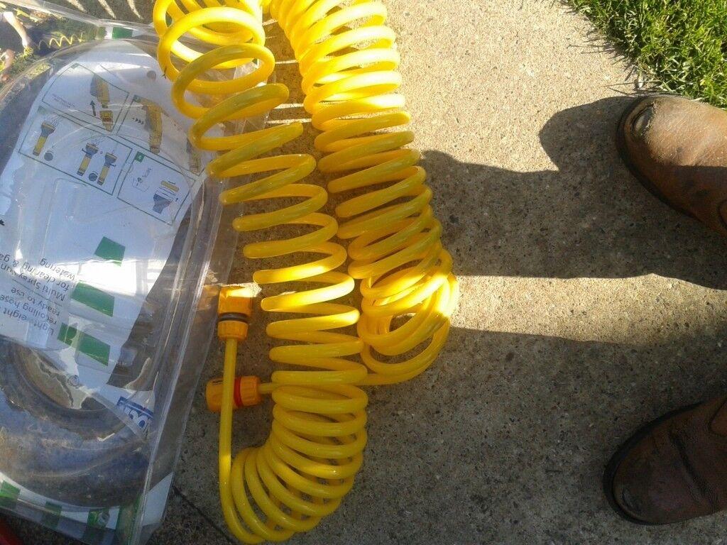 hoselock garden hose 15 metres spiral unused | in Norwich, Norfolk ...