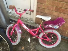 Child bicycle (4 to 9 yrs of age)