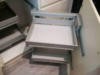 Kitchen pull out cupboard unit