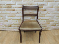 Dining chair Mahogany (Delivery possible)