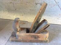 vintage wooden rabone plane and spirit level £10