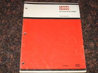 Case 65 Front End Loader Parts Manual Factory Oem