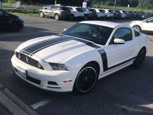 2013 Ford Mustang Boss 302 With Window Sticker Low Kms