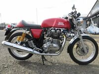 2015 - Royal Enfield Continental GT - £3950 - 550 miles on clock - MINT condition like new.