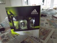Adidas pure game deoderant etc. gift pack