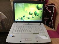 """Fast Acer 5315 white 15.6"""" solid win 7 office 2010 dvd excel cond no offers"""