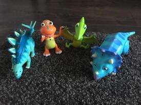 Dinosaur Train x4 talking figures