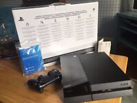 PS4 with box and controller for sale, rarely used