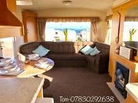 STARTER STATIC CARAVAN PERFECT FOR THE NEW SEASON !! NORTH EAST , COMPLETE WITH EVERYTHING YOU NEED
