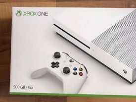 xbox one s 500gb , brand new & sealed ! 12 months warranty ! price stands , no offers !