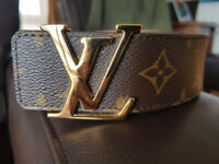 Louis Vuitton - LV - Iconic Monogram Belt - 35mm - unisex