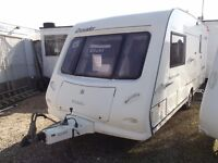 2006 Elddis Crusader Hurricane - luxury 2 berth - motor-mover!