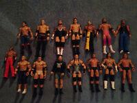 58 WWE Wrestling Figures Lot