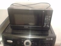 black touch screen microwave oven £30