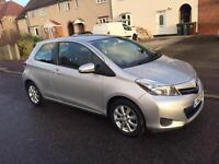 Toyota Yaris 62 Plate(2012). Very Low 8600 Miles Only.