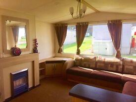 Static Caravan for SALE, sea-views & beach access, near Haggerston & Berwick, Scottish borders
