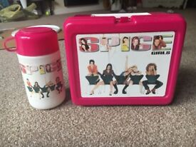 Spice Girls packed lunch box