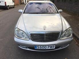 Mercedes-Benz S Class 5.0 S500 L Limousine 4door, 11 Months Mot, **LPG** Limousine