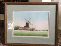 Original watercolour by Norfolk artist Stephen Martyn.