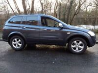 ssangyong kyron spr 4wd turbo diesel automatic 2010 60 plate merc jeep 4x4