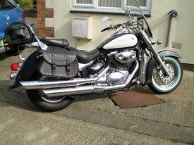 Suzuki Volusia cruiser Harley look a like