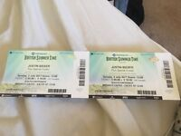 Justin bieber tickets for 2/07/17 @ Hyde Park, London