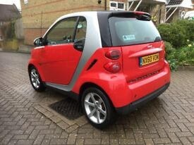 Smart Fortwo CDI Diesel Auto 2010 28k 1 Registered keeper Free road tax up to 83mpg just sreviced