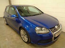 VOLKSWAGEN GOLF R32 3.2 V6 4MOTION , LOW MILES + HISTORY, YEARS MOT, HUGE SPEC, FINANCE, WARRANTY