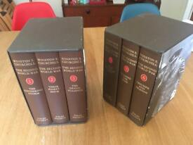 The Second World War by Winston Churchill, Folio Society, 6 Volumes