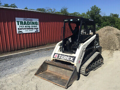 2015 Terex R070t Compact Track Skid Steer Loader Super Clean Only 700 Hours