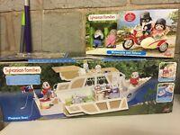 Sylvianian Families Pleasure Boat and Motorbike Bundle