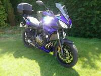 2016 66 Plate YAMAHA MT 07 TRACER 700 *MANY FACTORY EXTRAS* LOW MILEAGE AS NEW CONDITION